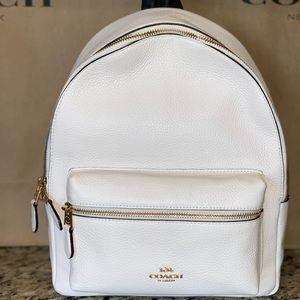 Cute Coach book bag !! 🤍🖤💛